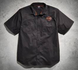 Harley-Davidson® Men's Flames Performance Shirt 99070-12VM