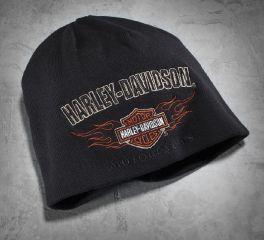 Harley-Davidson® Men's Reversible Flame Knit Hat 99509-12VM