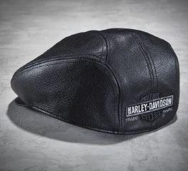 Harley-Davidson® Men's Nostalgic Leather Ivy Cap 99561-04V