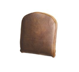 Distressed Brown Leather Low Backrest Pad