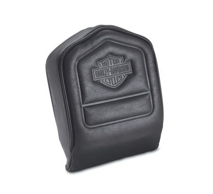 Harley-Davidson® Low Backrest Pad with Embossed Bar & Shield Logo 52412-79A