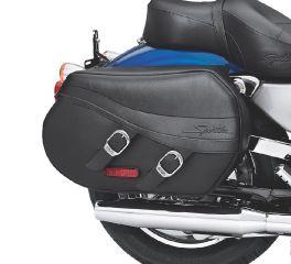 Harley-Davidson® Synthetic Leather Saddlebags 90330-08