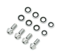 Harley-Davidson® Chrome Banjo Bolt Kit 41842-06