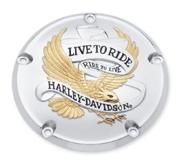 Harley-Davidson® Live To Ride Derby Cover 25340-99A