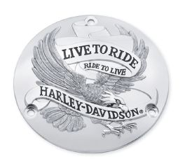 Harley-Davidson® Live To Ride Derby Cover 25391-84T