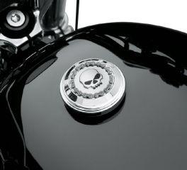 Harley-Davidson® Skull & Chain Fuel Cap Trim 61100034