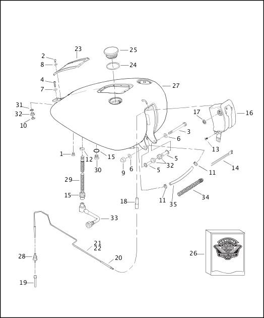 2003 Softail Models Parts Catalog
